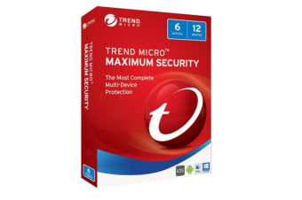 Trend Micro TM MAX SECURITY 2017 (1-6 DEV) 12MTH