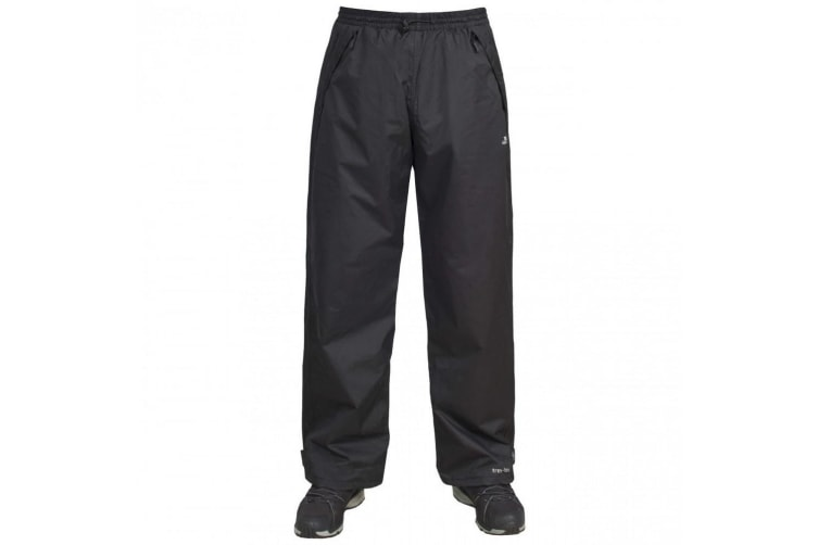 Trespass Mens Toliland Waterproof & Windproof Trousers (Black) (L)