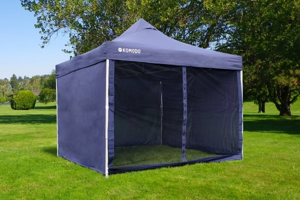 Komodo Premium 3m x 3m Pop Up Gazebo Marquee