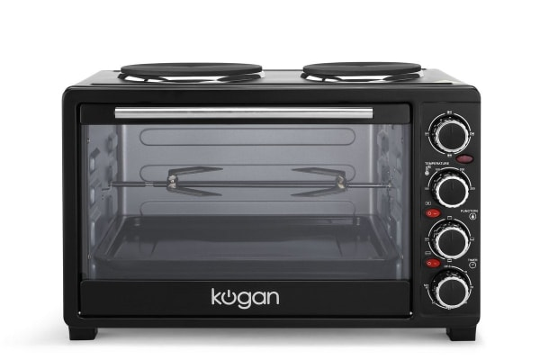 Kogan 33L Electric Oven with Hotplates