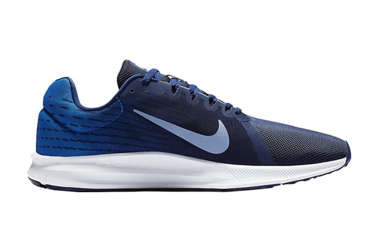 Nike Downshifter 8 Men's Running Shoe (Blue/White, Size 9.5 US)