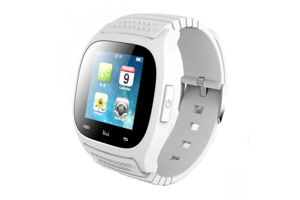 """TODO Bluetooth V3.0 Smart Watch 1.4"""" Tft Lcd Rechargeable Android Call - White"""