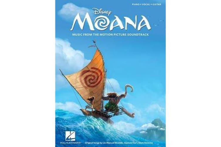 Moana - Music from the Motion Picture Soundtrack: Piano-Vocal-Guitar