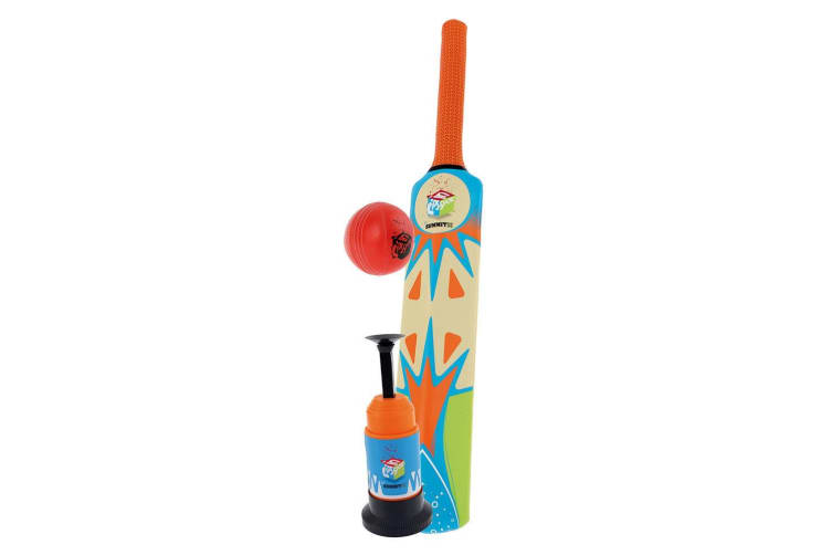 Summit 3pc Play Set Cricket Bat Launcher and Ball