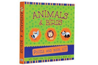 Animals & Birds : Puzzle and Book Kit