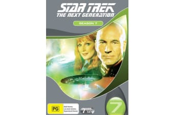 Star Trek the Next Generation The Complete Season 7 DVD Region 4