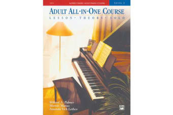 Alfred's Basic Adult All-in-One Piano Course