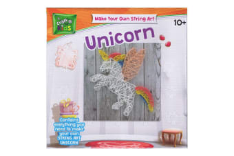Make Your Own String Art Unicorn