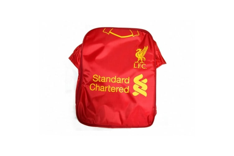 Liverpool FC Kit Lunch Bag (Red/Yellow) (One Size)