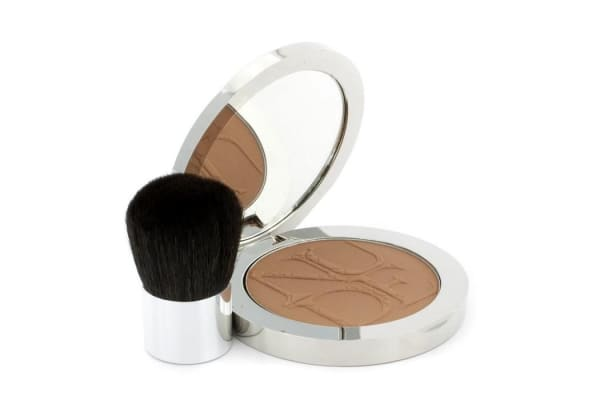 Christian Dior Diorskin Nude Tan Nude Glow Sun Powder (With Kabuki Brush) - # 006 Sienna (10g/0.35oz)