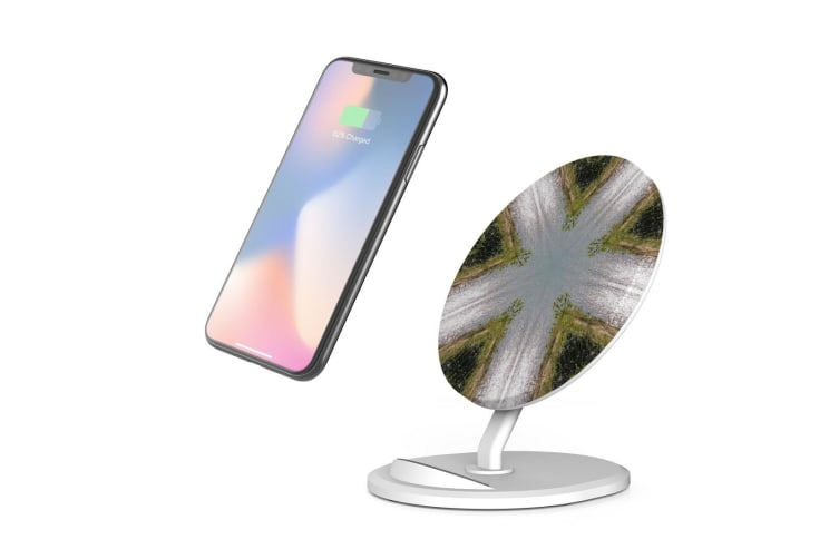 QI Wireless Charger For iPhone 11 Samsung Galaxy S20+ S20 Ultra Note 10+ Ways