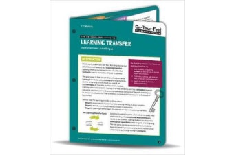 The On-Your-Feet Guide to Learning Transfer