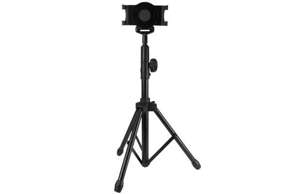 StarTech STNDTBLT1A5T Tripod Floor Stand for Tablets - Portable Tablet Tripod with Carrying Bag -