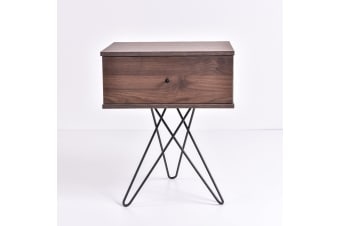 Susie Bedside table - Columbia Walnut