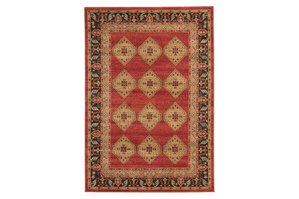 Shiraz Design Rug Red 230x160cm