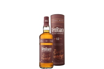 BenRiach 12 Year Old Sherry Wood Finish 700mL Bottle