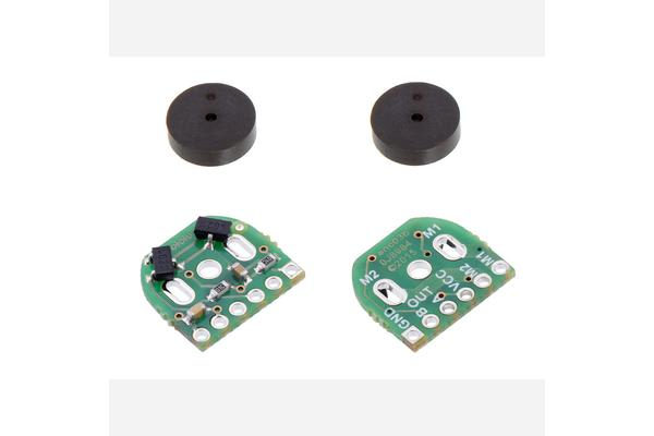 Pololu - Magnetic Encoder Pair Kit for Micro Metal Gearmotors, 12 CPR, 2.7-18V (HPCB compatible)