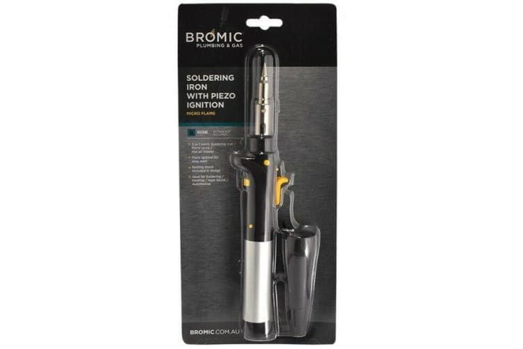 Bromic Butane 3 In 1 Soldering Iron Pro Edition- Soldering Micro Torch Hot Air Blower 3 In 1