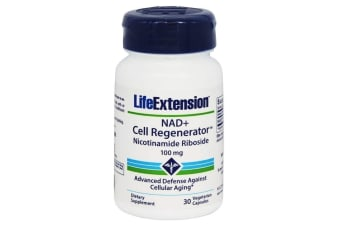 100mg NAD+ Cell Regenerator Life Extension Capsules Nicotinamide Riboside Niagen