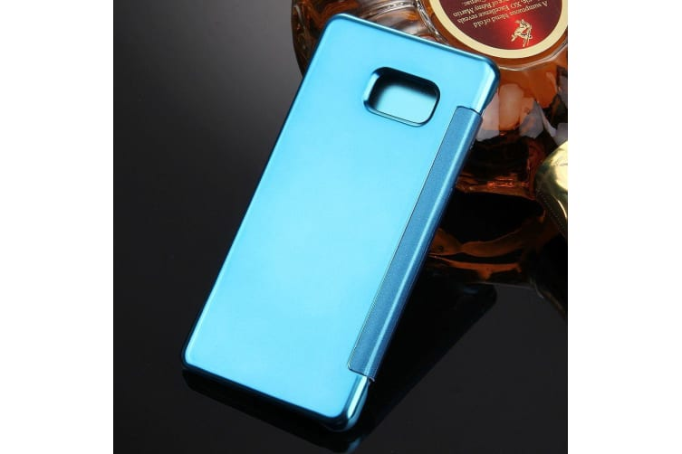 For Samsung Galaxy Note FE Case Stylish Electroplated Protective Cover Blue