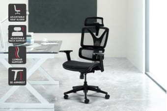 Ergolux EX10S Ergonomic Mesh Office Chair