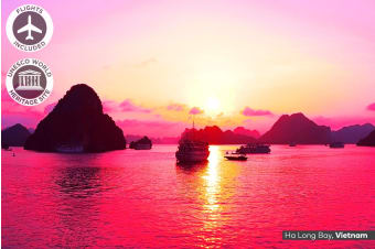 INDOCHINA: 21 Day Vietnam & Cambodia Discovery Tour Including Flights For Two
