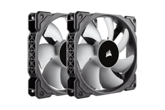 Corsair ML120 120mm Premium Magnetic Levitation Fan — Twin Pack!