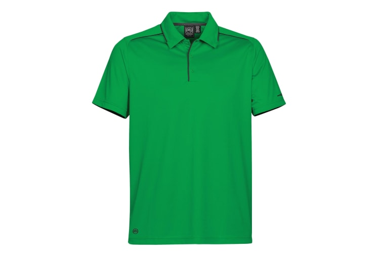 Stormtech Mens H2X Inertia Performance Polo Shirt (Kelly Green / Black) (2XL)