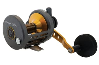 Fin-Nor Primal PR10 High Speed Lever Drag Overhead Fishing Reel