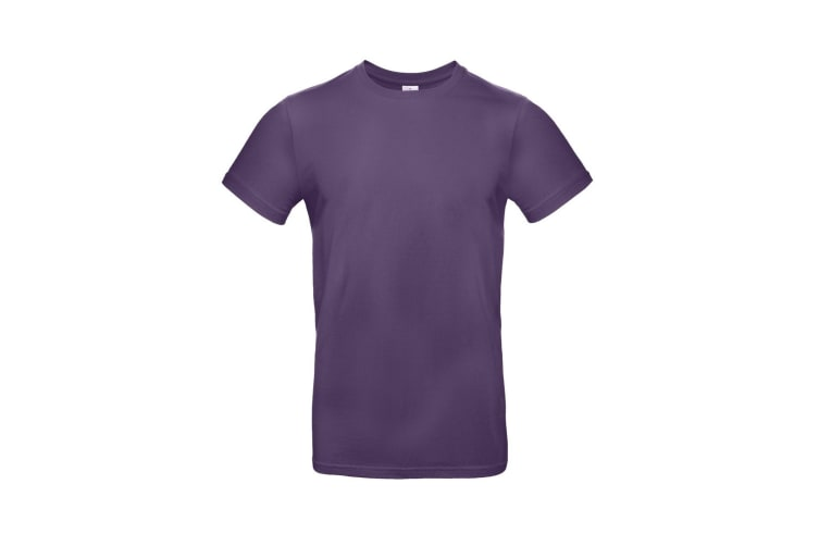 B&C Mens #E190 Tee (Radiant Purple) (M)