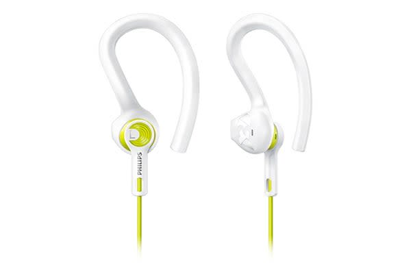 Philips ActionFit Sports Headphones - Lemon/Frost (SHQ1400LF)
