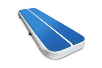 3 x 1M Inflatable Air Track Mat (Blue)
