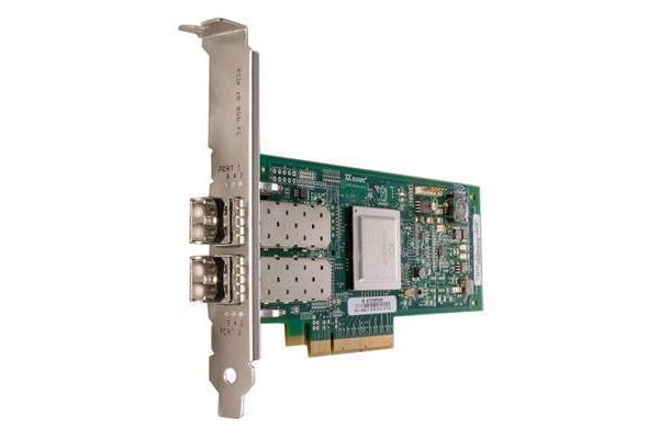 QLogic Dual Port 8Gb Fibre Channel to PCI-Express Host Bus Adapter