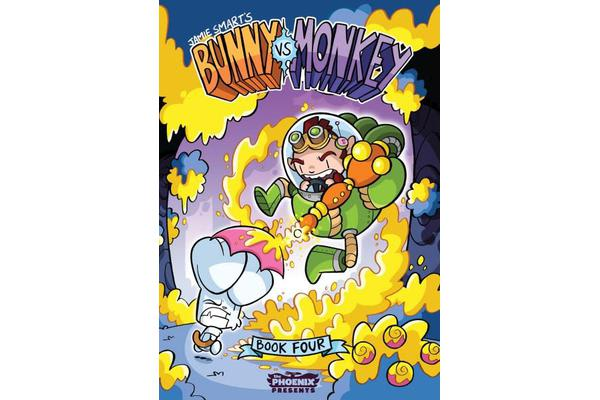 Bunny vs Monkey - Book 4