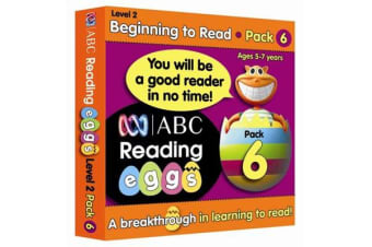 Beginning to Read Level 2 - Pack 6