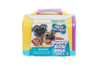 Puppy Dog Pals Travel Pets in Yellow Carrier