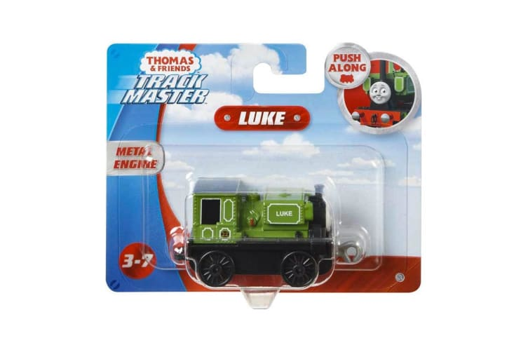 Thomas and Friends TrackMaster Small Engine Push Along Luke