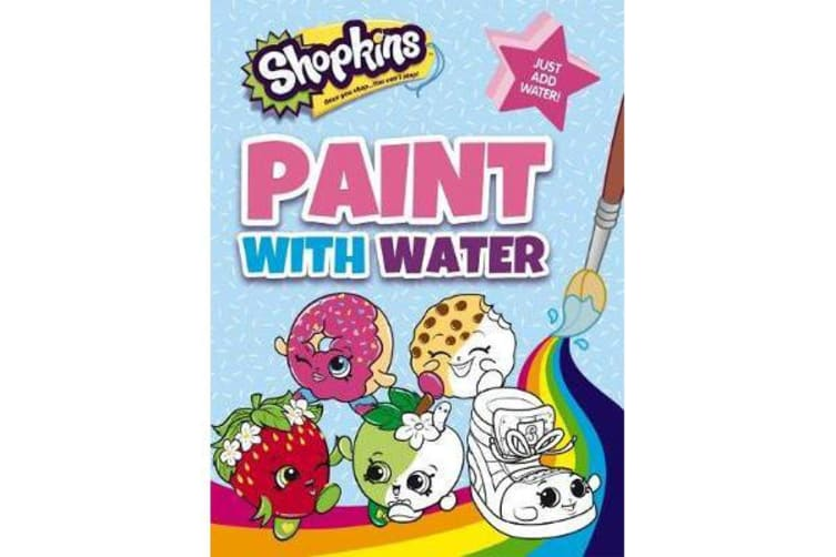 Shopkins - Paint with Water