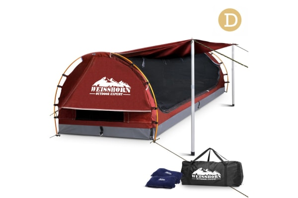 Double Camping Swag (Red)