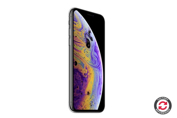 Apple iPhone XS Max Refurbished (64GB, Silver) - AB Grade