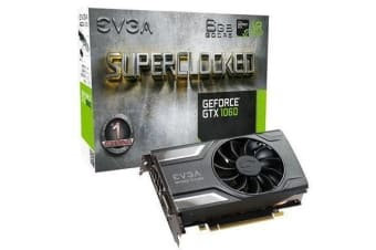 EVGA GeForce GTX1060 Graphics Card 6GB GDDR5 SC Version