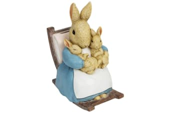 Beatrix Potter Mrs Rabbit Figure Moneybox