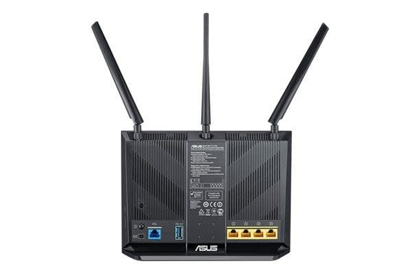 ASUS Wireless AC1900 Gigabit ADSL/VDSL Modem Router (DSL-AC68U)