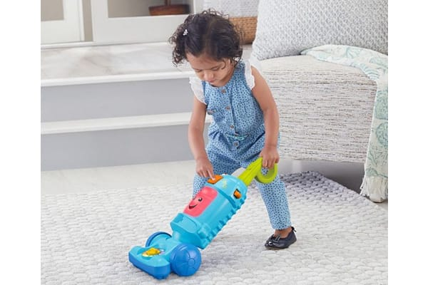 Fisher Pride Laugh & Learn Light-Up Learning Vacuum