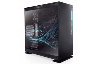 In Win 303rgb Atx Mid Tower Pc Case Tempered Glass Rgb Window Rgb Ready Usb 3.0