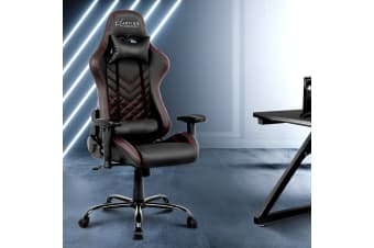 Artiss Gaming Office Chair Computer Desk Chairs Racing Recliner Seat Black