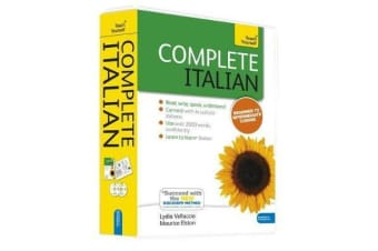 Complete Italian Beginner to Intermediate Book and Audio Course - Learn to read, write, speak and understand a new language with Teach Yourself