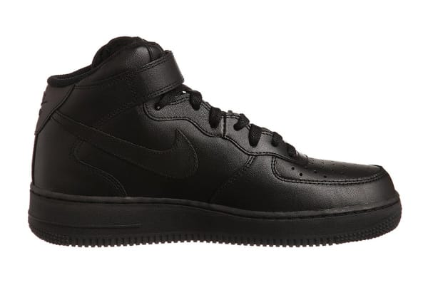 best service 61eda 53796 Nike Men s Air Force 1 Mid  07 Shoe (Black Black, Size 9) - Kogan.com