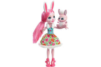 """Enchantimals 6"""" Doll - Bree Bunny Doll with Pet"""