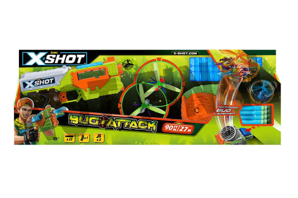 Zuru XSHOT Bug Attack Flying Bugs Launcher & Bugs